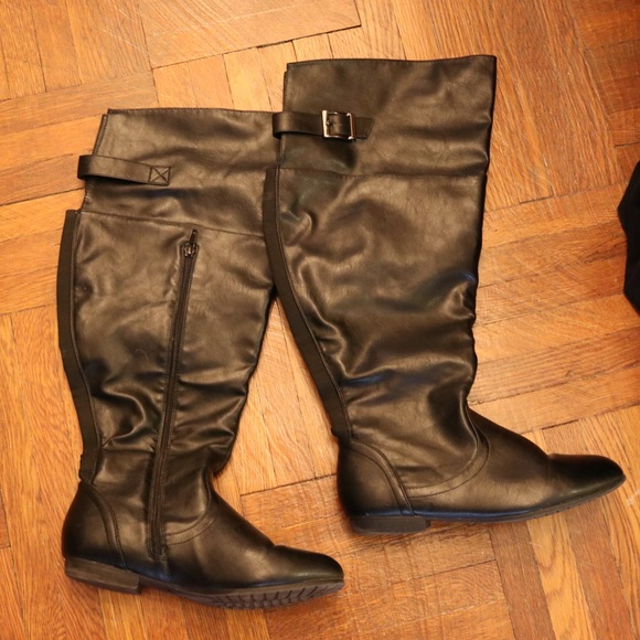 e8e5691b58b Wide Fit, Wide Calf, Knee High Ankle Boots